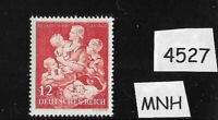 MNH WWII Germany stamp / Third Reich / 1943 Winter Relief for Mother & Children