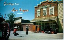LAS VEGAS, NV Nevada LAST FRONTIER VILLAGE Street Scene  c1950s   Postcard