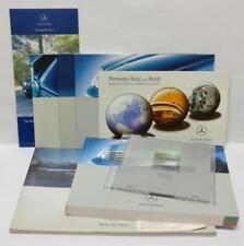 Rare Mercedes-Benz C-Class Catalog Booklet Owner's Manual DVD (A2093)