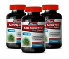 SAW PALMETTO 500mg - Supports Prostate Health Supreme Supplements (3 Bottles)