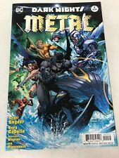 Dark Nights Metal #2 DC Comics 2017 1st print Jim Lee variant NM