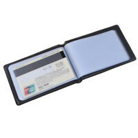 Leather 40 Card Commercial Name ID Credit Card Book Case Holder Organizer mf