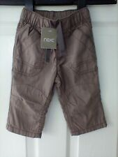 Next baby boy trousers size 6-9 months Bnwt