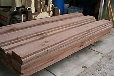 """100 bd ft 5/4 Walnut Lumber, KD, S2S to 1-3/16"""", Selects & Better, 8' lengths"""