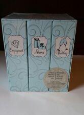 NEW! 3 piece Photo Album Set: Engagement, Shower & Wedding Albums Sheffield Home