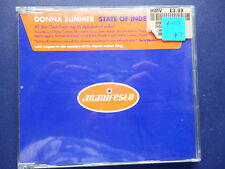 Donna Summer State of independence 6 mix 1996 U.K CD single