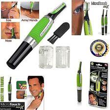 Nose Hair Trimmer Vibrissa Shaving Device Trimer Multi-function Led Hair Ear uk