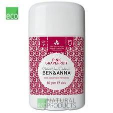 Ben & Anna Natural Soda Desodorante Stick Pomelo Rosado 60g