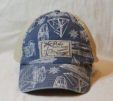 Polo Ralph Lauren Truker Cap Ocean Beach Swimwear Mesh Hat NWT