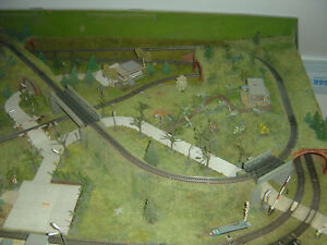 Eisenbahnplatte Spur TT  1,80 m x 1,20m x 0,20m.