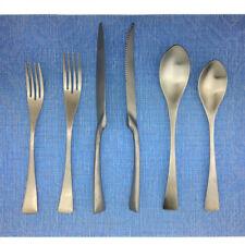24x Lovely Silver 18/10 Stainless Steel Fork Knife Spoon Silverware Flatware Set