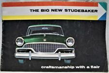 1956 STUDEBAKER AUTOMOBILE CAR ADVERTISING SALES BROCHURE GUIDE VINTAGE