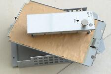 Telefunken V672 Vorverstärker Frontplatte und 2 seitliche Abdeckungen 5875