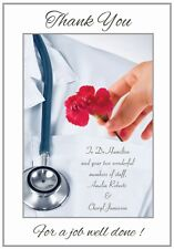 Thank You Doctor Greeting Card - Awesome !