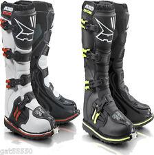 Axo Motocross Enduro Boots White Black 8 9 10 11 Kx Yz Rm Sx Excf Xcf Drz Xr Crf