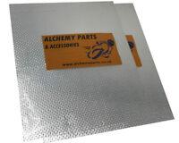 2 x Exhaust Reflective Heat Shield 40 x 33cm for Motorbike Car - Self Adhesive