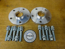 VW T5 T6 Pair of 5x120 65.1 Hubcentric Spacers 15mm 10 x19mm ORIGINAL Bolts UK