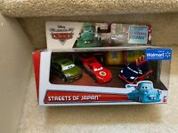Disney Pixar World of Cars~Streets of Japan 3-Pack~Seen in Tokyo Mater WALMART
