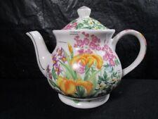 Floral Garden  -  Sadler  -  Teapot with Lid