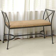 International Caravan 3414-SB Foot-Of-Bed Bench With Cushion  NEW