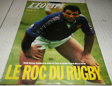 EQUIPE MAGAZINE N°350 1988 RUGBY DUBROCA GB BASKET YOUGOSLAVIE PARIS-DAKAR METGE