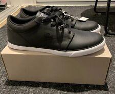 Lacoste Minzah 318 1 P Cam Black/white - Men's Size 9.5 New- NWT