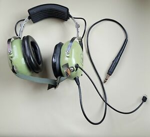 David Clark Aviation Headset Model H3310 USED FOR PARTS ONLY