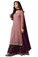Traditional Plazzo Stylish Pakistani Indian Kameez Salwar Suit Shalwar Stitched