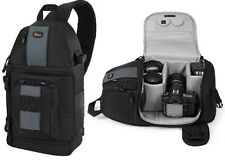 LowePro SlingShot 202 AW DSLR Sling Camera Bag with Padded & All Weather Cover