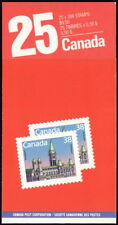 Canada BK103 ~ 1988 25x 38c Parliament stamps booklet ($9.50) ~ Scott 1165b MNH.