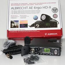 Albrecht  AE6190 HD-X CB-Funkgerät 80 CH AM 4 Watt FM 4 Watt neu