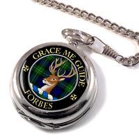 Forbes Scottish Clan Pocket Watch