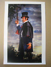 Vintage Disney ( Haunted Mansion Left Dueling Ghost) Collector's Print -B2G1F