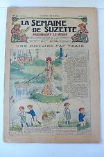 LA SEMAINE DE SUZETTE  24ème ANNEE  1928  -  N° 21