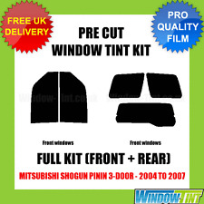 MITSUBISHI SHOGUN PININ 3-DOOR 2004-2007 FULL PRE CUT WINDOW TINT KIT