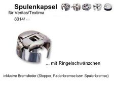 Spulenkapsel für Veritas/ Textima 8014 Serie Nähmaschinen + Fadenbremse !!  #VZ1