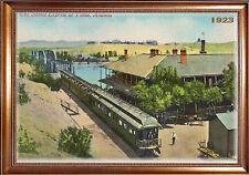MAGNET TRAIN Post Card Photo Magnet Southern Express Yuma Arizona Free Shipping
