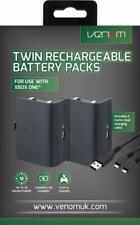 Xbox One Rechargeable Battery Twin Pack - Black (XBOX ONE)