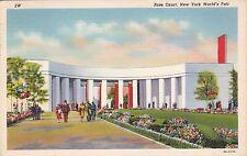New York World's Fair 1939 Rose Court Curteich sk1960
