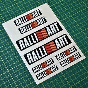Ralli Art Sticker Set - 8x Stickers