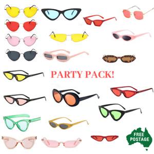 Bulk Pack wholesale Sunglasses Festival Bucks party fancy dress  BELOW COST!
