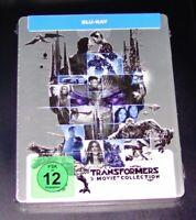 Transformers 1-5 5 Film Collection Limitata steelbook Edizione blu ray Nuovo