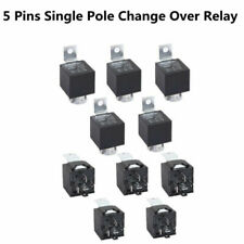 Hight Qulity 10pcs 12V 30/40Amp 5-Pin SPDT Electrical Relays Silver-cadmium oxid