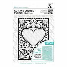 Xcut Heart Frame Die Cut and Emboss Folder Wedding Valentine Love