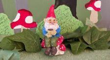 Fiddlehead Fairy Garden Miniature Soren the Caffeinated Coffee Gnome Stake New