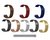 Milanese Band  Edelstahl Uhrenarmband 14 16 18 20 22 24mm  Mesch Magnet