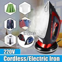 SOKANY Rechargable Cordless Wireless Spray Steam Iron Clothes Steamer 2400W yy