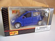 Maisto MERCEDES-BENZ A-Class Blue 1:34 Diecast Car NIB