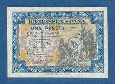 ESPAÑA // SPAIN -- 1 PESETA JUNIO ( 1940 ) -- UNC -- SERIE C -- PICK 121a .