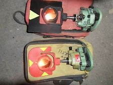 2X Leica GPR111 e GPR1 prismi PER SOKKIA livelli LEICA TOPCON stazione totale